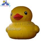 Very Popular Water Park Decoration Yellow Inflatable Water Duck Tarpaulin