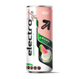 Premium 250 Ml Alu Can Electrolyte Coconut Water with Guava Juice