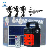 Portable Lithium Ion Battery Solar DC Energy Systems 10W 6V All in One Solar Power Generator System for Use in Home and Outdoor