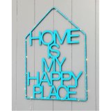 Wire Light 31X44cm Wall Decor Hanging