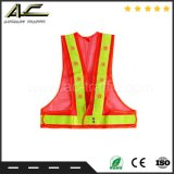 Good Sale Red/Orange LED Safety Vest