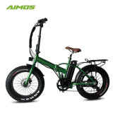 Folding 500W Energy Saving Powerful Snow Electric Bicycle