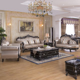 Luxury Leather Sofa for Living Room Furniture Sets (619M)