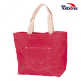 Cheap Women Blank Canvas Cotton Tote Shopping Bags