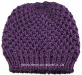 Women Autumn and Winter Warm Knitted Hat Beanie Hat (HY17071812/HY17071816/HY17071814)
