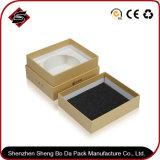 Shenzhen Factory Wholesale Kraft Paper Package/Packaging Box for Wallet Box/Prize Keepsake Box Custom Logo