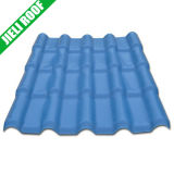 Sound Absorption and Heat Insulation Color Lasting PVC Roof Tile