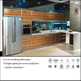 Wooden Pattern UV Kitchen Cabinet (ZH180)
