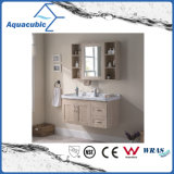 Wall-Mount Plywood Bathroom Cabinet with Melamine Surface (ACF8899)