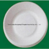 6 Inch Eco-Friendly Sugarcane Pulp Round Plate