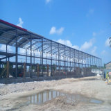 Customized Prefabricated Steel Structure Workshop for Sale