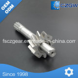 High Precision Customized Transmission Shaft Spline for Machine Parts and CNC Machinery