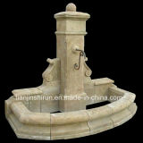 Antique Marble Carving Wall Fountain