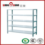 Restaurant 5 Tier Flat Panel Stainless Steel Shelf