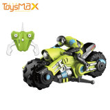 Factory Direct Remote Control 1: 10 360 Degree Stunt Drift RC Motorcycle with LED Light Vehicle Car Toy
