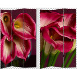 Most Pretty Beautiful Gorgeous Flowers Print 3 Panel Canvas Screen & Room Dividers