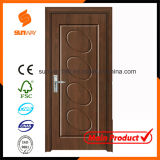 Hot Sale Interior PVC Wooden Door with Competitive Price Sw-P018