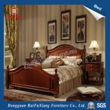 Rui Fu Xiang Queen Size Oak Color Bedroom Furniture for Marriage (B230)