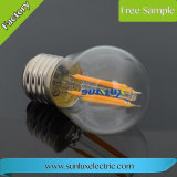 High Brightness E27 8W Edison Glass Filament Bulb LED Lamp