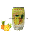345ml Pet Can Carbonated Pineapple Juice Drink Soda