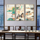 3 Panel Landscape Oil Canvas Painting Wall Art Picture for Home, Office, Hotel Decoration
