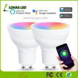 5W GU10 Smart Light Bulb RGB + Daylight White Color Changing Tuya APP Control WiFi Spotlights