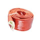 Heat Shield Fiberglass Sleeve Silicone Rubber Fiberglass Wire Insulation Sleeves High Temperature Pipeline Protection