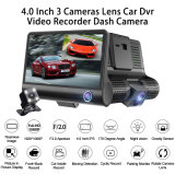 Car DVR 3 Cameras Dash Camera Dual Lens with Rearview Camera