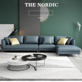 Nordic Technology Cloth #Sofa Furniture, Italian Simple Couch Small Family L-Shaped #Linl0066