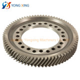 Steel Spur Transmission Gear Machining Helical Gear Wheel for Spare Parts