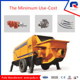 Pully Manufacture Hot Selling 110 Kw Electric Trailer Concrete Pump (HBT80.16.116S)