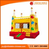 2018 Birthday Cake Party Bouncy House Castle Inflatable Bouncer (T1-221)