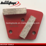 Soft Bond Concrete Floor Grinding Tools for Polishing Hard Concrete