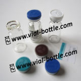 2ml HGH Use Empty Glass Bottle with Stopper, Flip off Cap and Labels