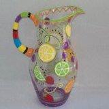 Antique Kitchen Colored Glassware Wholesale Glass Tea Juice Jugs