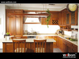 Welbom American Maple Solid Wood Kitchen Cabinet