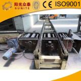 Semiautomatic Concrete Block Machine