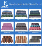 50-Year Guarantee Stone Coated Roof Tile/Modern House Types/Cheap House Materials Steel Stone Coated