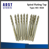 HSS High Hardness Machine Tool Machine Taps Spiral Fluted Tap
