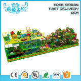 Plastic Playground Material and Children's Indoor Play Centre Equipment