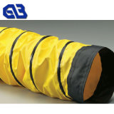 Waterproof Tarpaulin PVC Roll Fabric for Tunnel Ventilation Duct