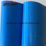 Blue Heavy Duty Waterproof Fire Retardant PVC Fabric Viny Coated Tarpaulin Cover Sheet
