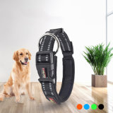 Fashion Breathable Quick Release Buckle Reflective Nylon Dog Collar