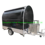 New Zealand Enclosed Mobile Outdoor Ice Cream Food Concession Trailer