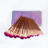 Cheap Classical Makeup Brush Women Soft Synthetic Hair Beauty 17PCS Cosmetic Kit Makeup Brushes Sets Tools