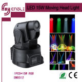 15W LED Mini Moving Head Stage Lamp (HL-023Y)