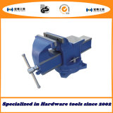 6′′ Quick-Release Bench Vise Swivel with Anvil Type