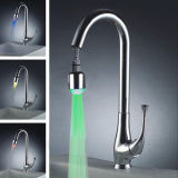 Modern Chrome Pull out LED Kitchen Faucets