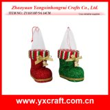 Christmas Decoration (ZY16Y107-5-6 14CM) Christmas Boot Product