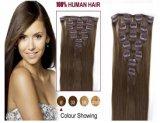 100% Human European Remy Clip in Human Hair Extension